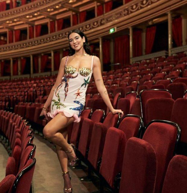 """Zbulohet çmimi """"i kripur"""" i fustanit që veshi Dua Lipa në """"American Music Awards"""" (FOTO)"""