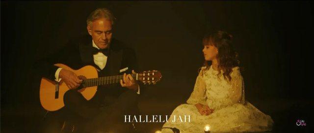 """""""Beso te Krishtlindjet!""""/ Zëri i Andrea Bocellit dhe vajzës 8-vjeçare do i bëjë edhe më magjike këto festa"""