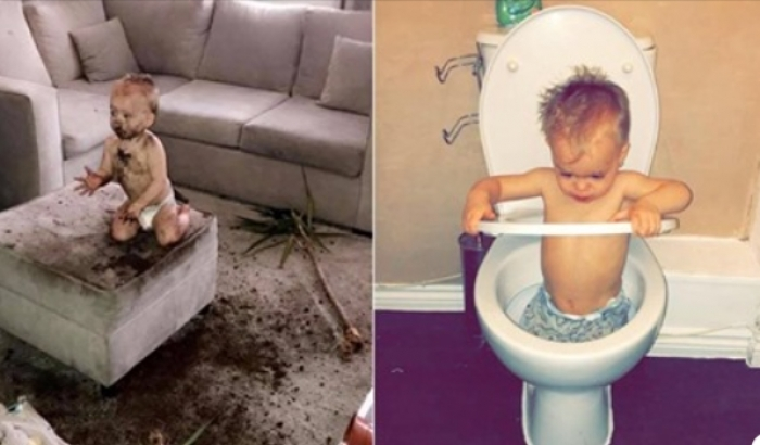 Ka shkatërruar 12 televizorë dhe desh i vuri flakën shtëpisë, ky është 3-vjeçari më mistrec në botë (Foto)