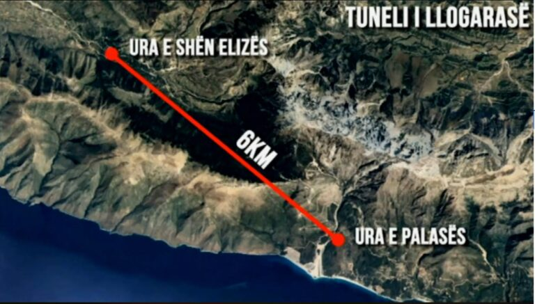 Rihapet gara për ndërtimin e tunelit të Llogarasë, ofertat afat deri në fund të Korrikut