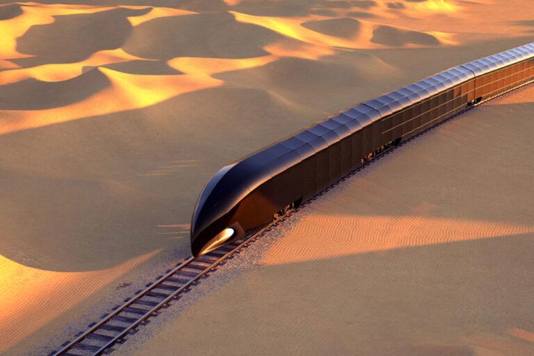 Një e ardhme ndryshe për hekurudhat, vjen treni luksoz prej xhami (Foto)