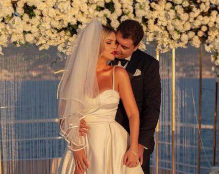 """""""Dita jonë"""", Rezarta Shkurta publikon momentet më të bukura nga ceremonia martesore (Video)"""
