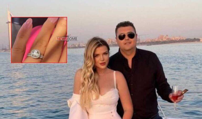 Mijëra euro për diamantët e shndritshëm, zbulohet çmimi i unazës së dasmës për Rezarta Shkurtën