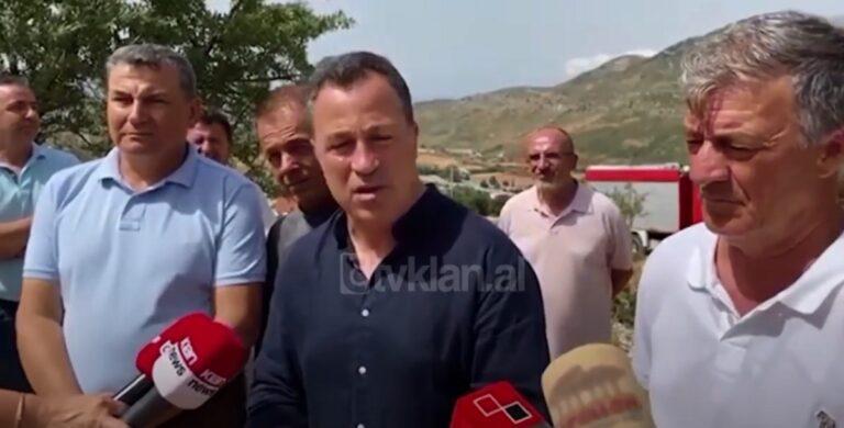 Peleshi: Bashkia e Vlorës të marrë përgjegjësi për zjarret