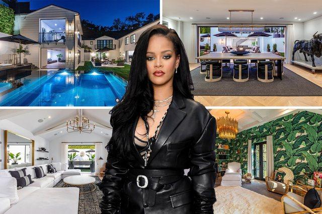 5 dhoma gjumi dhe 7 tualete/ Brenda vilës luksoze të Rihannas që i kushtoi 13.75 milionë dollarë (FOTO)