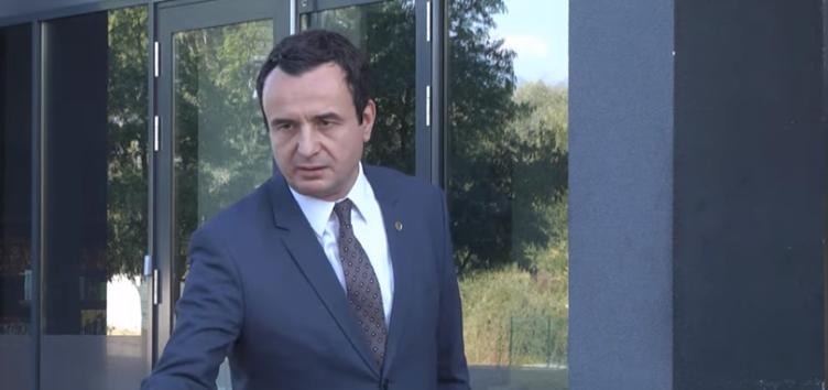 Albin Kurti: Paqja në Ballkan vjen nëse Serbia heq dorë nga Kosova
