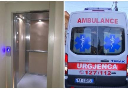 Shkëputet ashensori i një pallati në Astir, plagosen dy gra