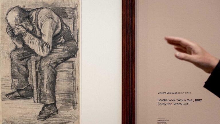 """Muzeu holandez gjen vizatimin e Van Gogh/ Vepra """"Worn Out"""" personifikon të moshuarin e lodhur"""