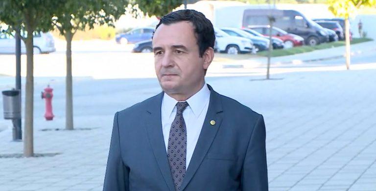 """""""Ballkani nuk është 3 shtete"""", Kurti: Bëjnë gabim ata që ushtrojnë trysni mbi Kosovën"""